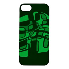 Green abstraction Apple iPhone 5S/ SE Hardshell Case