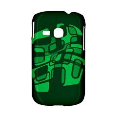 Green abstraction Samsung Galaxy S6310 Hardshell Case