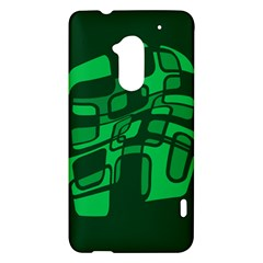 Green abstraction HTC One Max (T6) Hardshell Case
