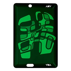 Green abstraction Amazon Kindle Fire HD (2013) Hardshell Case