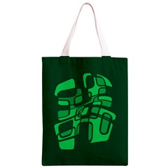 Green abstraction Classic Light Tote Bag