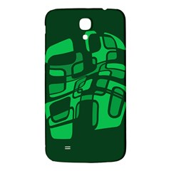 Green abstraction Samsung Galaxy Mega I9200 Hardshell Back Case