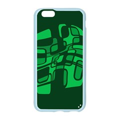 Green abstraction Apple Seamless iPhone 6/6S Case (Color)