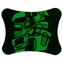 Green abstraction Jigsaw Puzzle Photo Stand (Bow)