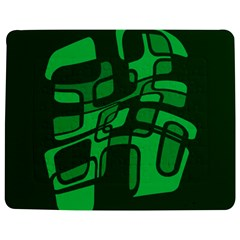 Green abstraction Jigsaw Puzzle Photo Stand (Rectangular)