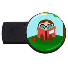 Brainiac USB Flash Drive Round (4 GB)