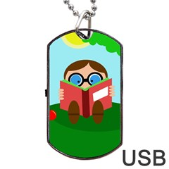 Brainiac Dog Tag USB Flash (Two Sides)