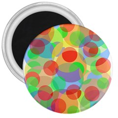 Colorful circles 3  Magnets