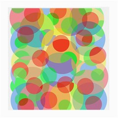 Colorful circles Medium Glasses Cloth (2-Side)