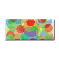 Colorful circles Hand Towel