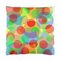 Colorful circles Standard Cushion Case (One Side)
