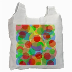 Colorful circles Recycle Bag (Two Side)
