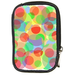 Colorful circles Compact Camera Cases