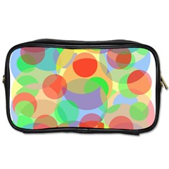 Colorful circles Toiletries Bags 2-Side