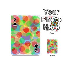Colorful circles Playing Cards 54 (Mini)