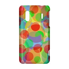 Colorful circles HTC Evo Design 4G/ Hero S Hardshell Case
