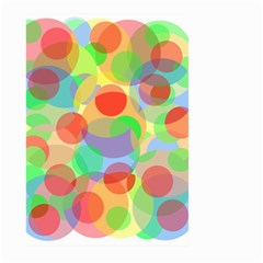 Colorful circles Large Garden Flag (Two Sides)