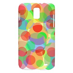 Colorful circles Samsung Galaxy S II Skyrocket Hardshell Case