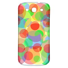 Colorful circles Samsung Galaxy S3 S III Classic Hardshell Back Case