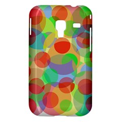 Colorful circles Samsung Galaxy Ace Plus S7500 Hardshell Case