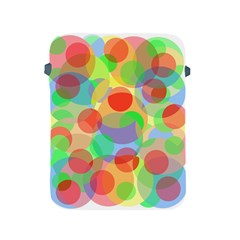 Colorful circles Apple iPad 2/3/4 Protective Soft Cases