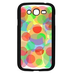 Colorful circles Samsung Galaxy Grand DUOS I9082 Case (Black)