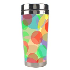 Colorful circles Stainless Steel Travel Tumblers
