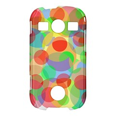 Colorful circles Samsung Galaxy S7710 Xcover 2 Hardshell Case