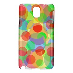Colorful circles Samsung Galaxy Note 3 N9005 Hardshell Case