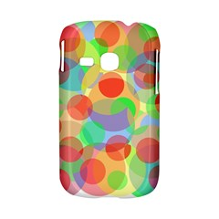 Colorful circles Samsung Galaxy S6310 Hardshell Case
