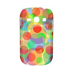 Colorful circles Samsung Galaxy S6810 Hardshell Case
