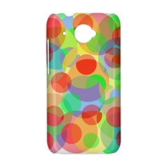 Colorful circles HTC Desire 601 Hardshell Case