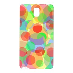 Colorful circles Samsung Galaxy Note 3 N9005 Hardshell Back Case