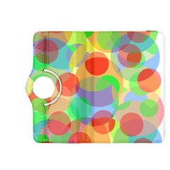 Colorful circles Kindle Fire HDX 8.9  Flip 360 Case