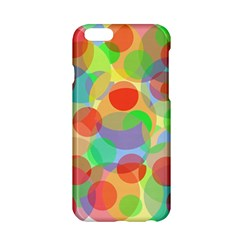 Colorful circles Apple iPhone 6/6S Hardshell Case