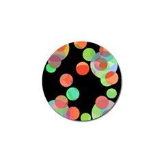 Colorful circles Golf Ball Marker (4 pack)