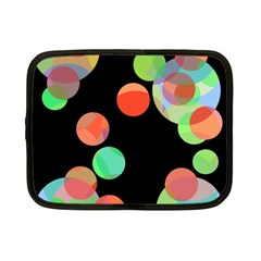 Colorful circles Netbook Case (Small)