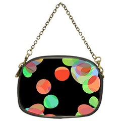 Colorful circles Chain Purses (One Side)