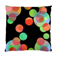 Colorful circles Standard Cushion Case (Two Sides)