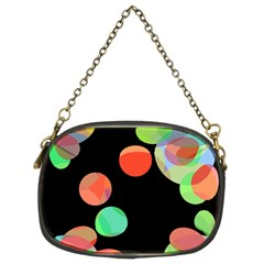 Colorful circles Chain Purses (Two Sides)