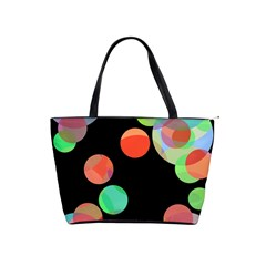 Colorful circles Shoulder Handbags