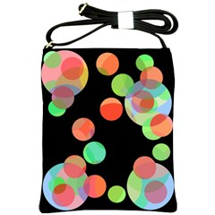 Colorful circles Shoulder Sling Bags