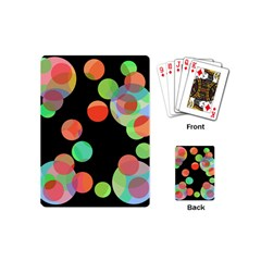 Colorful circles Playing Cards (Mini)