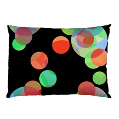 Colorful circles Pillow Case (Two Sides)