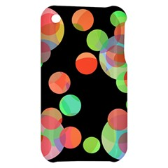 Colorful circles Apple iPhone 3G/3GS Hardshell Case