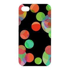 Colorful circles Apple iPhone 4/4S Hardshell Case