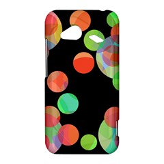 Colorful circles HTC Droid Incredible 4G LTE Hardshell Case