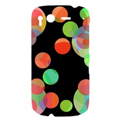 Colorful circles HTC Desire S Hardshell Case