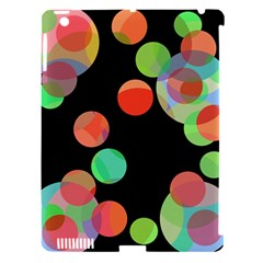 Colorful circles Apple iPad 3/4 Hardshell Case (Compatible with Smart Cover)