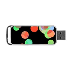 Colorful circles Portable USB Flash (One Side)
